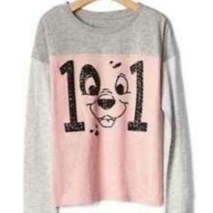 Disney Gap 101 Dalmatians sequin shirt